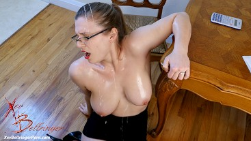 Modelhub xev-bellringer Boss Obsessed With My Cleavage 4k  WEB-DL 1080p 4k Siterip Clip Siterip