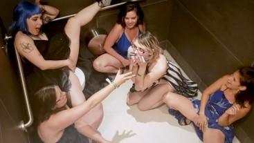 Modelhub kezia-slater 6 GIRLS SQUIRTING IN PUBLIC BATHROOM AT XBIZ AFTER PARTY - PREVIEW  WEB-DL 1080p 4k Siterip Clip Siterip