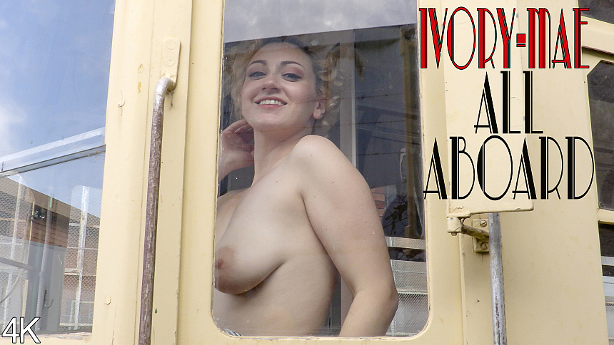 GirlsoutWest Ivory Mae - All Aboard  Video  Siterip 720p mp4 HD Siterip