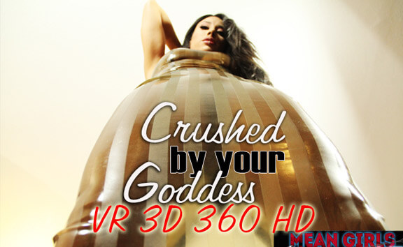 meangirlsvr Crushed By Your Goddess - Shaved Mistress Femdom  Siterip VR 2060p mp4 Siterip