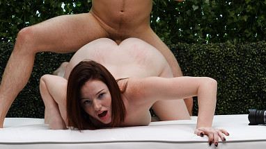 Netvideogirls Natural Busty Redhead  WEBDL SITERIP H264 AAC  480p Siterip