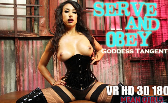 meangirlsvr Serve And Obey Goddess Tangent - Busty Mature Fingering  Siterip VR 2060p mp4 Siterip