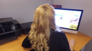 HOLLYHOTWIFE HOLLYHOTWIFE in MILF Playing At The Office [ MANYVIDS ]  WEB-DL 1080p Siterip Video mp4 Siterip