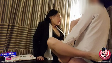 Modelhub spicygum June Liu  /SpicyGum - Chinese Manager Punishes her Employee for Being Late  WEBRIP 2k uncut Siterip